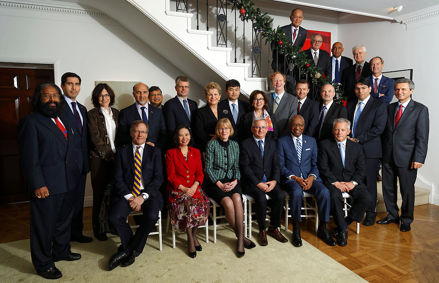 New York, Dec 17.  Lunch hosted by The Australian Mission to the UN  for newly appointed Permanent Representatives. photo by Trevor Collens.