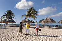 Cuba, am Strand von Ancon bei Trinidad , Provinz Sancti Spiritus