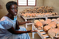 Murambi/Rwanda.<br />