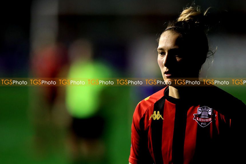 Ellie Hack of Lewes during Lewes Women vs Bristol City Women, FA Women's Continental League Cup Football at The Dripping Pan on 18th November 2020