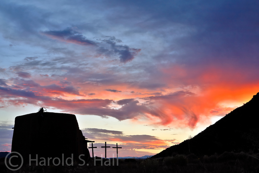The Morada is a religious meeting place of the Penitentes of northern New Mexico.  Permission should be granted priot to the taking of any photographs here.