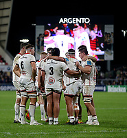 Friday 8th October 2021<br /> <br /> The Ulster forwards gather during the URC Round 3 clash between Ulster Rugby and Benetton Rugby at Kingspan Stadium, Ravenhill Park, Belfast, Northern Ireland. Photo by John Dickson/Dicksondigital