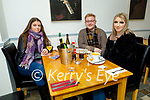 Anna McSweeney, Daniel Moriarty and Jade Falvey enjoying the evening in Sforno on Friday.