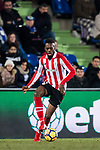 Inaki Williams Arthuer of Athletic Club de Bilbao in action during the La Liga 2017-18 match between Getafe CF and Athletic Club at Coliseum Alfonso Perez on 19 January 2018 in Madrid, Spain. Photo by Diego Gonzalez / Power Sport Images