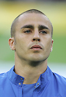 Fabio Cannavaro.  Italy defeated Germany, 2-0, in overtime in their FIFA World Cup semifinal match at FIFA World Cup Stadium in Dortmund, Germany, July 4, 2006.