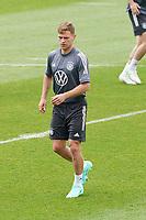 Joshua Kimmich (Deutschland Germany) - Seefeld 05.06.2021: Trainingslager der Deutschen Nationalmannschaft zur EM-Vorbereitung