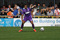 Luther James-Wildin of Stevenage during Sutton United vs Stevenage, Sky Bet EFL League 2 Football at the VBS Community Stadium on 11th September 2021