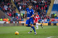 Marko Grujic of Cardiff City during the Sky Bet Championship match between Cardiff City and Middlesbrough at the Cardiff City Stadium, Cardiff, Wales on 17 February 2018. Photo by Mark Hawkins / PRiME Media Images.