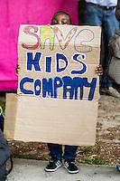 07.08.2015 - Save Kids Company - Demo Outside 10 Downing Street
