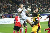 Markus Proell (Eintracht) haelt<br /> Eintracht Frankfurt vs. Borussia Dortmund, Commerzbank Arena<br /> *** Local Caption *** Foto ist honorarpflichtig! zzgl. gesetzl. MwSt. Auf Anfrage in hoeherer Qualitaet/Aufloesung. Belegexemplar an: Marc Schueler, Am Ziegelfalltor 4, 64625 Bensheim, Tel. +49 (0) 6251 86 96 134, www.gameday-mediaservices.de. Email: marc.schueler@gameday-mediaservices.de, Bankverbindung: Volksbank Bergstrasse, Kto.: 151297, BLZ: 50960101