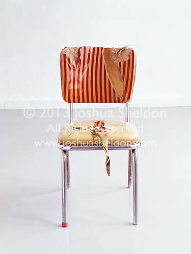 Torn chair<br />