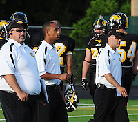 The Madison Mustangs top the Roscoe Rush 31-7 on Saturday, 6/20/09, at Breitenbach Stadium in Middleton, Wisconsin