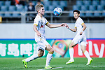 Adelaide United Midfielder Riley Patrick Mcgree in action during the AFC Champions League 2017 Group Stage - Group H match between Jeju United FC (KOR) vs Adelaide United (AUS) at the Jeju World Cup Stadium on 11 April 2017 in Jeju, South Korea. Photo by Marcio Rodrigo Machado / Power Sport Images
