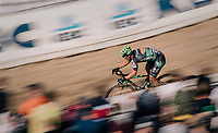 Stan Godrie (NED/Crelan-Charles) in the infamous Zonhoven 'Kuil' (or 'Pit')<br /> <br /> Elite Men's Race<br /> CX Super Prestige Zonhoven 2017