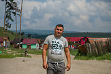 One of the Roma community leader in Sfantu Gheorghe