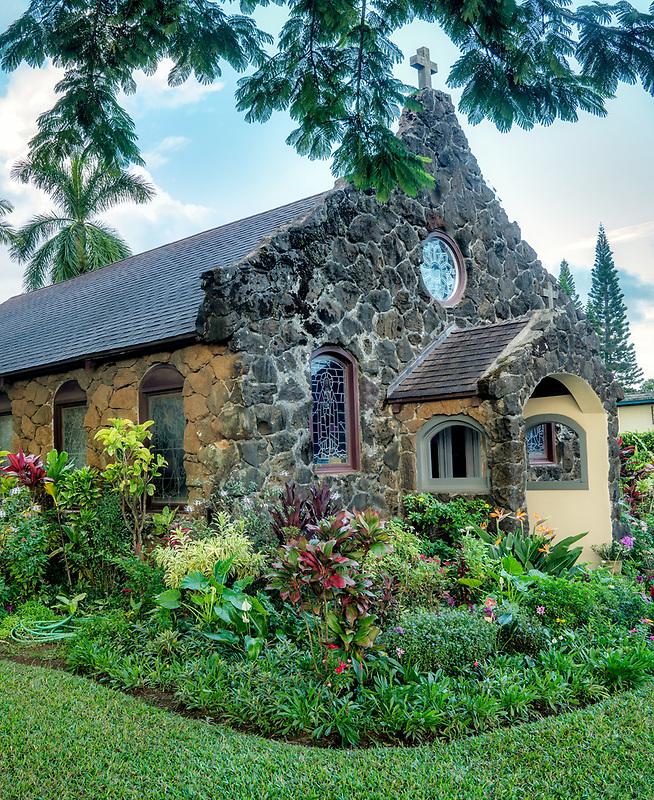 Christ Memorial Episcopal Church. Kauai, Hawaii.