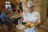 Asie/Israël/Judée/Jérusalem: Restaurant Blue Dolphin la Chef Onit Ohayan