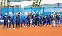 Amstelveen, Netherlands, 10 Juli, 2021, National Tennis Center, NTC, Amstelveen Womans Open, Singles final:  Linespeople and umpires<br /> Photo: Henk Koster/tennisimages.com