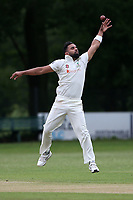 Z Shahzad of Wanstead attempts to field the ball during Wanstead and Snaresbrook CC (fielding) vs Brentwood CC, Hamro Foundation Essex League Cricket at Overton Drive on 19th June 2021