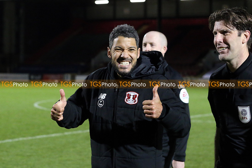 O's Jobi McAnuff at ft during Leyton Orient vs Harrogate Town, Sky Bet EFL League 2 Football at The Breyer Group Stadium on 21st November 2020