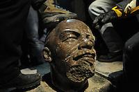 The Fall of the Lenin Statue in Kiev