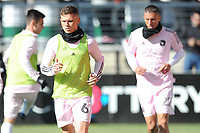 WASHINGTON, DC - MARCH 07: Will Trap #6 of Inter Miami CF during pre game warmups during a game between Inter Miami CF and D.C. United at Audi Field on March 07, 2020 in Washington, DC.