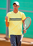 Australia's Alexei Popyrin during Junior Davis Cup 2015 match. September  30, 2015.(ALTERPHOTOS/Acero)