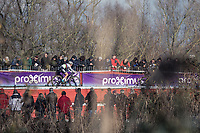Later women's elite race winner Sanne Cant (BEL/Beobank-Corendon)<br /> <br /> women's elite race<br /> Flandriencross Hamme / Belgium 2017