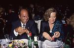 RENATO ALTISSIMO CON LA MOGLIE<br /> FESTA A PALAZZO DUCALE MANTOVA 1988