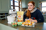 Grainne Leahy from Abbeydorney, one of Mercy Mounthawk's TY Young Social Innovators group Red Flags who is doing a 'Bake and Donate' fundraiser in aid of Women's Aid.