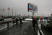 Kiev, ukraine.March 15, 2006..Kiev is again in Orange before the Parliament elections to be held on March 26th.