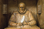John Stow changing the Quill Ceremony at St Andrew Undershaft church City of London UK.