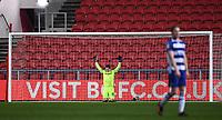 16th February 2021; Ashton Gate Stadium, Bristol, England; English Football League Championship Football, Bristol City versus Reading; Rafael of Reading celebrates after the match