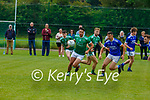 Jonathan O'Sullivan  Milltown-Castlemainegoes past Conor Murphy LAune Rangers during their Div 3 clash in Milltown on Sunday