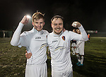 EK goalscorers Jack Smith and Sean Winter at the end