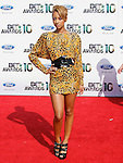 Keri Hilson arrives at the 2010 BET Awards at the Shrine Auditorium in Los Angeles, California on June 27,2010                                                                               © 2010 Hollywood Press Agency