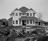 St. Bernards Parish, Louisiana.USA.February 20, 2006..Hurricane Katrina damage to residential homes...