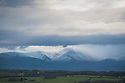 19/01/19<br /> <br /> Snow showers roll in over mountains near the north west Welsh coast near Anglesey.<br /> <br /> All Rights Reserved, F Stop Press Ltd +44 (0)7765 242650  www.fstoppress.com rod@fstoppress.com