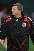 DC United Assistant Coach Chad Ashton   Chicago Fire tied DC United 1-1 at  RFK Stadium, Saturday March 28, 2009.