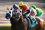 Broken Dreams, with Garrett Gomez aboard wins the Osunitas Stakes at Del Mar Race Course in Del Mar, California on July 21, 2012.