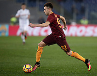 Calcio, Serie A: Roma vs ChievoVerona. Roma, stadio Olimpico, 22 settembre 2016.<br /> Roma's Stephan El Shaarawy in action during the Italian Serie A football match between Roma and Chievo Verona, at Rome's Olympic stadium, 22 December 2016.<br /> UPDATE IMAGES PRESS/Isabella Bonotto