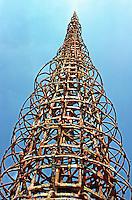 Los Angeles: Watts Towers.  Photo '85.