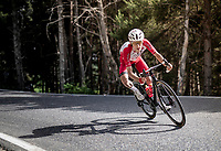 Guillaume Martin (FRA/Cofidis) in the descent of the Col de Beixalis<br /> <br /> Stage 15 from Céret to Andorra la Vella (191km)<br /> 108th Tour de France 2021 (2.UWT)<br /> <br /> ©kramon