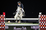 Bertram Allen on Hector van d'Abdijhoeve competes during the AirbusTrophy at the Longines Masters of Hong Kong on 20 February 2016 at the Asia World Expo in Hong Kong, China. Photo by Victor Fraile / Power Sport Images
