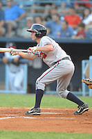 Jake Hanson during a game against the Rome Braves at McCormick Field Asheville, NC July 29, 2010. Rome won the game 7-6.