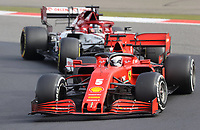 11th October 2020, Nuerburgring, Nuerburg, Germany; FIA Formula 1 Eifel Grand Prix, Race Day;  5 Sebastian Vettel GER, Scuderia Ferrari Mission Winnow