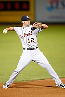 Cale Iorg - Surprise Rafters - 2010 Arizona Fall League.Photo by:  Bill Mitchell/Four Seam Images..