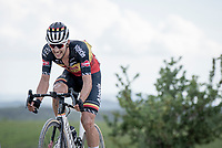 """Belgian National Champion Dries De Bondt (BEL/Alpecin-Fenix) <br /> <br /> 104th Giro d'Italia 2021 (2.UWT)<br /> Stage 11 from Perugia to Montalcino (162km)<br /> """"the Strade Bianche stage""""<br /> <br /> ©kramon"""