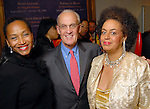 From left: Anita Smith, Peter Brown and Toni Whitaker at the Houston Museum of African American Culture held at the Ensemble Theater Thursday Oct. 22,2009. (Dave Rossman/For the Chronicle)