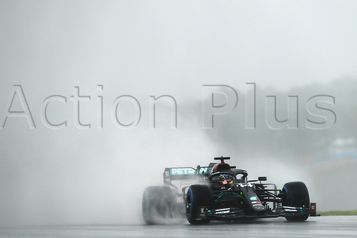 14th November 2020; Istanbul Park, Istanbul, Turkey; FIA Formula One World Championship 2020, Grand Prix of Turkey, qualifying; 44 Lewis Hamilton GBR, Mercedes-AMG Petronas Formula One Team only 6th for the race grid in the wet